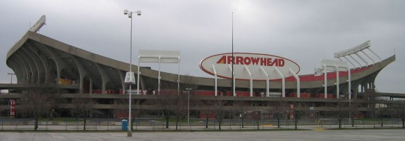 Arrowhead Stadium, the site of the Kansas City Charismatic Conference in 1977 (Wikimedia Commons)
