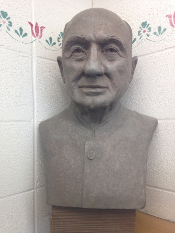 The Bust of Sanford C. Yoder