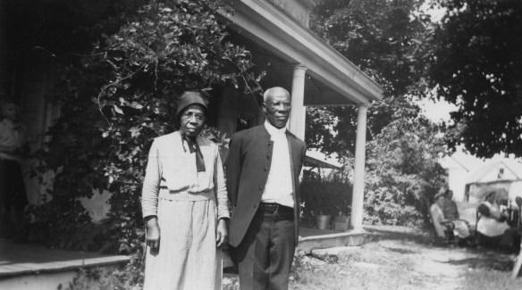 William and Clara Anderson, ca. 1940