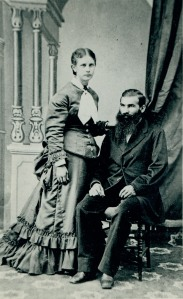 Samuel Schmidt Haury (1847-1929) and Susanna Hirschler Haury (1861-1944)