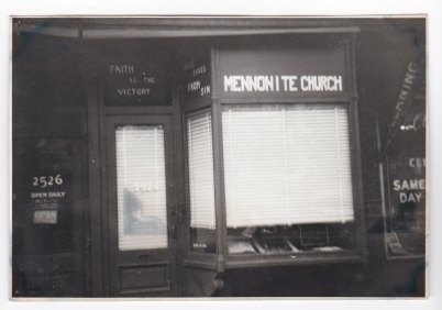 Church storefront