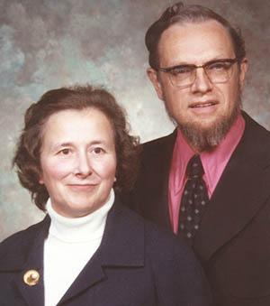 David and Wilma Shank 1974