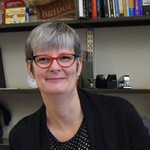 Janis Thiessen 2017 office photo