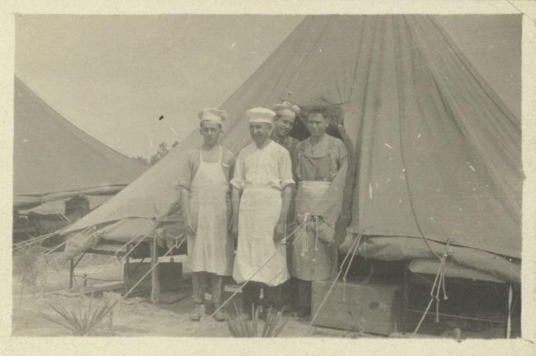 C.O. Cooks Camp Lee 1918