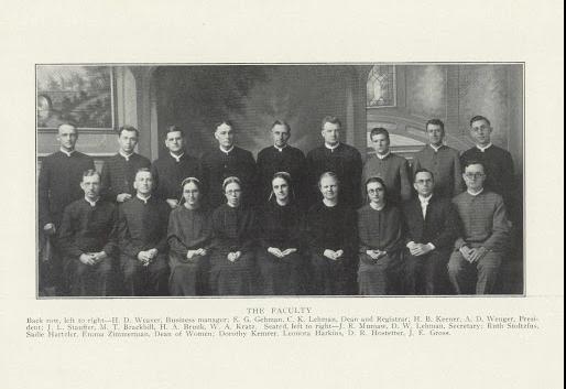 EMS Faculty 1930